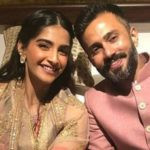 Sonam Kapoor With Her Husband Anand Ahuja