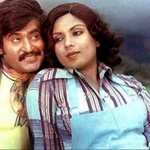 Rajinikanth and Sripriya