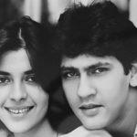 Namrata Dutt With Husband Kumar Gaurav
