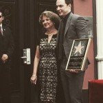 Jim Parsons with his mother