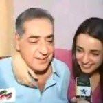 Sanaya Irani with her father
