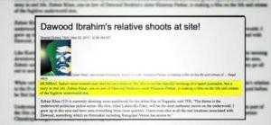 Zubaur Khan, rumoured relative of Haseena Parker and Dawood Ibrahim