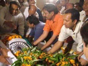 O.P. Jindal's Dead Body
