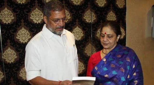 Neelakanti Patekar with her husband