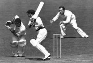 Bradman got out at zero at his last inning