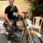 Anubhav Sinha's Bike (Royal Enfield)