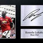 Romelu Lukaku's signature
