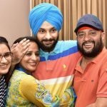 Anmol Sher Singh Bedi with his family