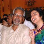 Suhasini With Her Husband Maniratnam