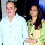 Raju Kher with his wife Reema Kher