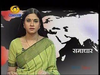 Neelum Sharma - DD National Prime Time News Show