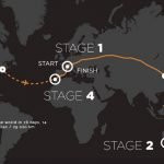 Mark Beaumont World Record Journey Map