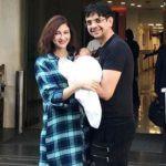 Saumya Tandon With Her Husband And Son