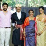 Shubra Aiyappa with her family