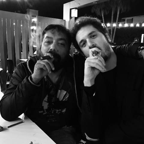 Anurag Kashyap smokes