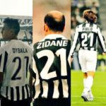 Paulo Dybala sharing Jersey number with Legends Like Zidane and Pirlo