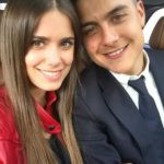 Paulo Dybala with his girlfriend Antonella Cavalieri