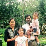 Sudarsan Pattnaik with his family