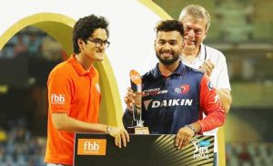 Rishabh Pant - Emerging Player of the Season (IPL 11)