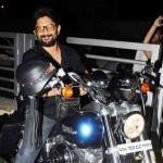 Arshad Warsi's Bike Harley Davidson