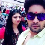 Winy Tripathi with his sister