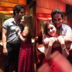 Priyanka Chibber with her husband