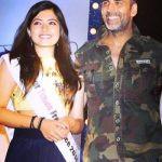 Rashmika Mandanna Clean & Clear Times Fresh Face 2014