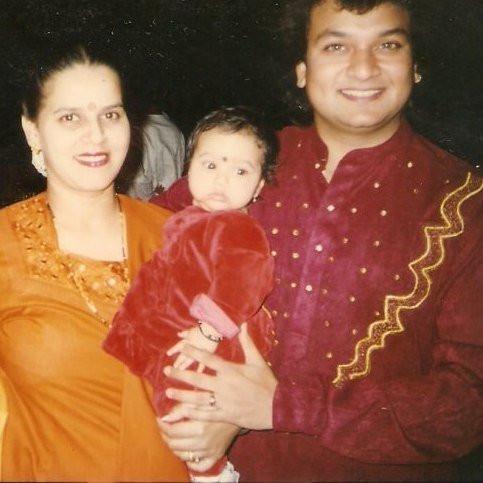 Urvashi Pardeshi childhood