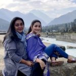 Meghna Gulzar With Alia Bhatt on the Set of Raazi