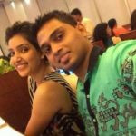 Rupali Bhosle with her brother