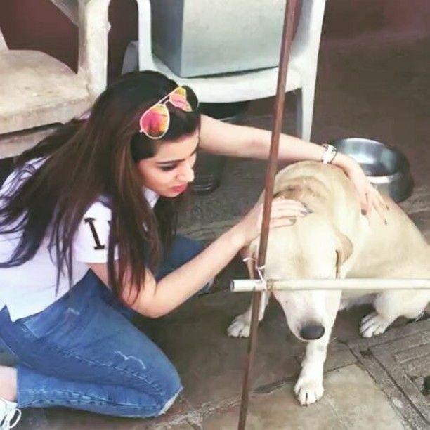 Priyanka Chibber loves dogs