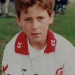 Eden Hazard playing for Royal Stade Brainois