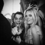 Martin Garrix with his girlfriend