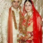 Sid Makkar with his wife Shalini