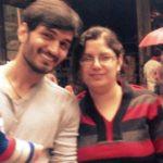 Gajendra Verma With His Sister