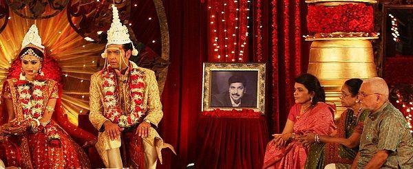 Rahul Mahajan married Dimpy Ganguli during the show, Rahul Dulhaniya Le Jayega