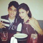 Mouni Roy with her brother