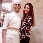 Amyra Dastur with her brother Jehangir Dastur