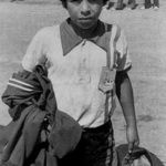 Diego Maradona in his childhood