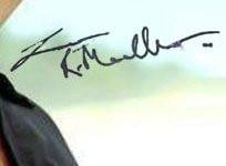 R. Madhavan's Autograph