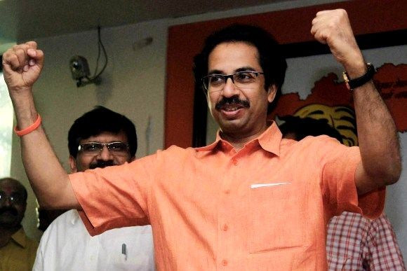 Uddhav Thackeray during his younger days