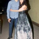 Aishwarya Rai with her brother