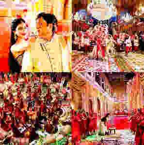 Mishika Chourasia and Govinda in the film Rangeela Raja's song