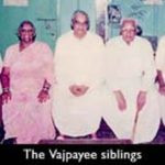 Atal Bihari Vajpayee With His Brothers And Sisters