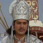 "Arjun (Firoz Khan) as ""Arjuna"" in BR Chopra's Television serial Mahabharat (1988)"