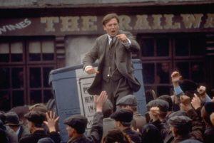 Liam Neeson in Michael Collins 1996