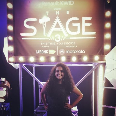 Jannabi Das on the sets of The Stage