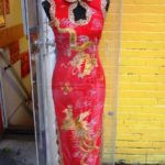 Keziah Daum's Chinese Style Prom Dress