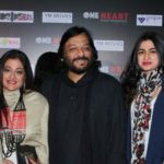 Roop Kumar Rathod with his Wife and Daughter