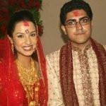 Priyanka Karki with her ex-husband